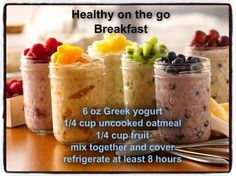 Easy Healthy Breakfast for on the go!