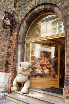 A good place for teddy bears to shop