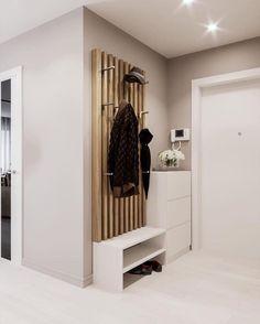 Home Entrance Decor, House Entrance, Home Hall Design, House Design, Kitchen Room Design, Interior Design Living Room, Flur Design, Small Apartment Interior, Hallway Designs