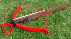"Instructable on how to DIY ""Make a 100 Pound Medieval Style PVC Crossbow and Bolts"". I'm guessing it wouldn't be too difficult to modify it to the 30# or 25# max as required by many LARPs."