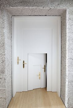 Open The Door To The Surreal Side Of Architecture—photos by Stuart Whipps © 2010. Copyright of AVPD © 2010