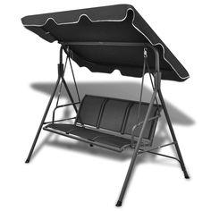 Simple but elegant .Black Garden Swing Chair Only US$141.37, - LovDock.com