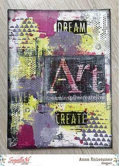 Dekoráció az absztrakt jegyében + egy bónusz oldal :) D Craft, Altered Art, 3 D, Mixed Media, Journal, Design, Mixed Media Art, Journal Entries, Design Comics