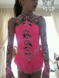 Really pretty flower competing LeoTard