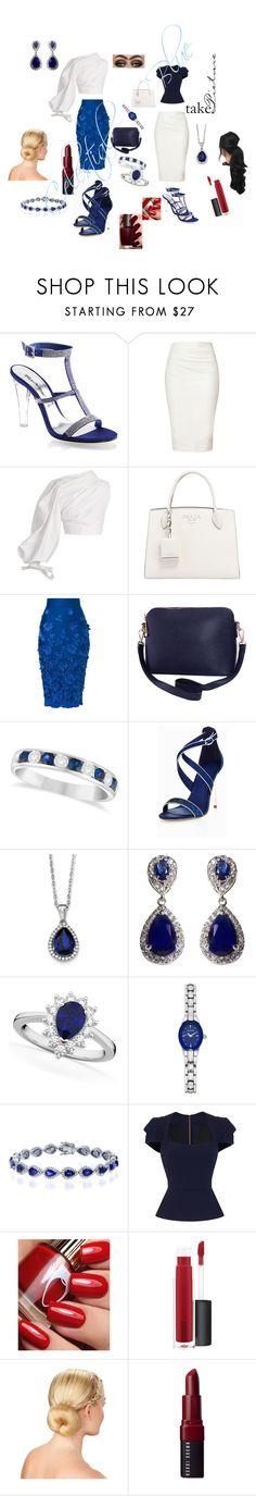 """Celestial Blue"" by sinmrn ❤ liked on Polyvore featuring Fabulicious, Donna Karan, Jacquemus, Prada, Ermanno Scervino, Humble Chic, Allurez, BillyTheTree, NEXTE Jewelry and Armitron"