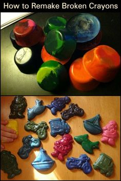 How to reclaim those old broken crayons? Know how to prepare them and make them in use again for your kid's creative projects.