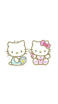 Sanrio Characters, Fictional Characters, Hello Kitty Pictures, Hello Kitty Cake, Hello Kitty Collection, Kitty Wallpaper, Little Girls, Kawaii, Wallpapers