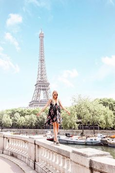 Eiffel Tower | Summer in Paris: http://www.ohhcouture.com/2017/06/monday-update-50/ #leoniehanne #ohhcouture
