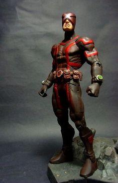 MARVEL NOW Cyclops Ver. 2 (Marvel Legends) Custom Action Figure