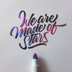On @creativesafari today: Crazy Crayola Calligraphy... http://creativesafari.com/crazy-crayola-calligraphy/ … #blog #handwriting #lettering