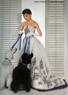 Audrey and Poodles
