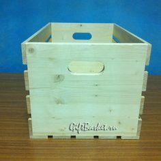 Деревянный ящик для хранения, арт. 7643