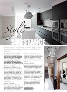 Style AND substance ~ How to make your home both beautiful and functional... #locallife #interiors #homedecor #inspiration #ideas #Haslemere #Surrey