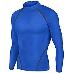 Kids Youth School Mens Baselayer Compression Long Sleeve Top Sportswear Skins