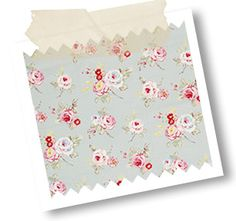 English Rose is from the Vintage Classics Collection, which is a collection of adorable vintage prints ranging from delightful florals and bird trails to cute, whimsical designs such as Beach Huts and Scotties.