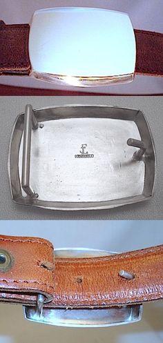 Belt Buckles 86647: J.Erik Sterling Silver Belt Buckle -> BUY IT NOW ONLY: $175 on eBay!