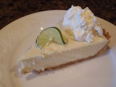 Best key lime pie ever! So easy and a crowd pleaser