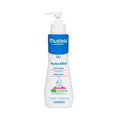 Mustela Hydra-bebe Loción corporal 300 ml. Para la hidratación corporal diaria de recién nacidos y bebés.