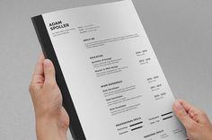 Clean Resume by ResumeTools on Etsy