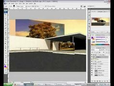 Architectural Rendering Tutorial - Photoshop and Sketchup