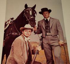 Wild Wild West B/&W 8X10 Photo Robert Conrad Ross Martin