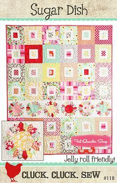 Sugar Dish Quilt Pattern Cluck. Cluck. Sew Quilt Patterns - Fat Quarter Shop