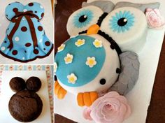 Belly Bump Baby Shower Cakes