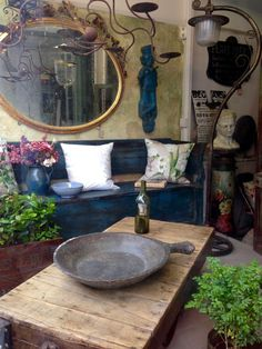 Decor, Furniture, Interior, Oversized Mirror, Eclectic, Home Decor, Individual Space, Shop Interiors, Mirror