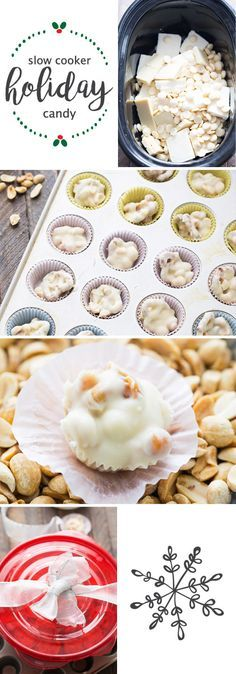 Learn to make your very own homemade sweet treats this holiday season with this recipe for Slow Cooker Candy. Using white chocolate chips, roasted peanuts, and pretzel pieces, you won't believe how easy it is to serve up the sweet and salty flavor combination to your party guests. Plus, when stored in Rubbermaid TakeAlongs® containers, they make the perfect edible Christmas gift idea as well!