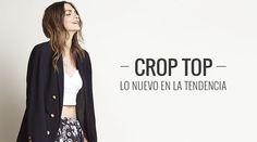 Para las indecisas: tres maneras de llevar un crop top - Los crop top han vuelto esta temporada. ¿Sabes cómo llevarlo? ¡Mira este post! #blogripley