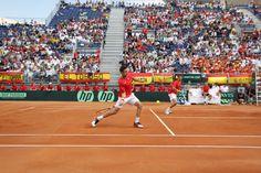 Equipo de dobles. Marcel Granollers y Marc López.