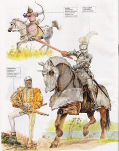Польский рыцарь. Начало 16 века. Рисунок - отсюда