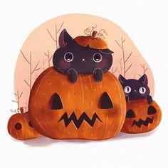 Pumpkin Kitty on Behance