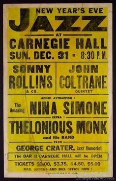 Un cartel de all-stars en 1961