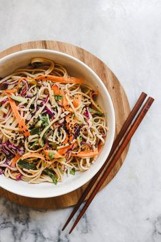 Cold Soba Noodle Salad Peanut Sauce Vegan From My Bowl