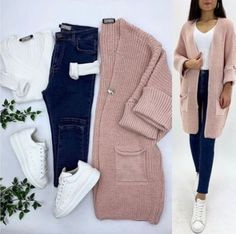 Color Clothing combinations Source by HijabO. - Color Clothing combinations Source by Source by - Classy Winter Outfits, Casual Fall Outfits, Outfits For Teens, Stylish Outfits, Hijab Casual, Ootd Hijab, Hijab Outfit, Girls Fashion Clothes, Winter Fashion Outfits
