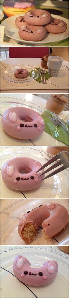 イクミママのどうぶつドーナツ(ピンクうさちゃん)