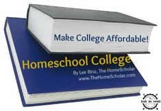 If you are struggling to pay for college for your homeschool students, consider other ways to make college affordable!