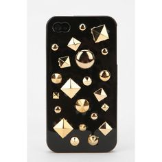Mixed Stud Iphone 4/4s Case- UO