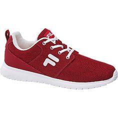 #Fila #Sneaker #rot für #Herren - Auf die Trendfarbe Rot und ein sportives…
