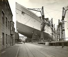 """""""The RMS Empress of Britain was an ocean liner built between 1928 and 1931 by John Brown shipyard in Scotland and owned by Canadian Pacific Steamship Company, providing trans-Atlantic passenger service between Canada and Europe from 1931 until 1939."""