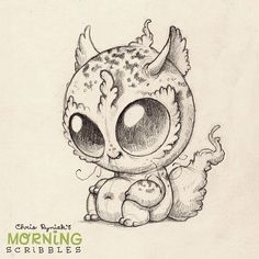 Kawaii! Cute monster critter doodles Chris Ryniak http://chrisryniak.com/