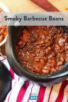 Smoked meat and beans are best friends.