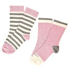 abbey stripe | kids combed cotton socks| etiquette clothiers