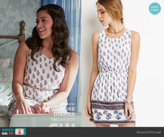 Forever 21 Crisscross-Back Floral Dress worn by Gina Rodriguez on Jane the Virgin Fashion Tv, Fashion Outfits, Picture Outfits, Movie Outfits, Florida Outfits, Casual Summer Dresses, Dress Casual, Gina Rodriguez, Outfits