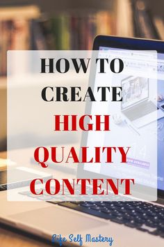 How to create high quality content and get more people attracted towards your content. Click through to know more. Small Business Marketing, Business Tips, Content Marketing, Make More Money, Make Money Blogging, Blogging For Beginners, Blog Tips, Writing Tips, How To Start A Blog
