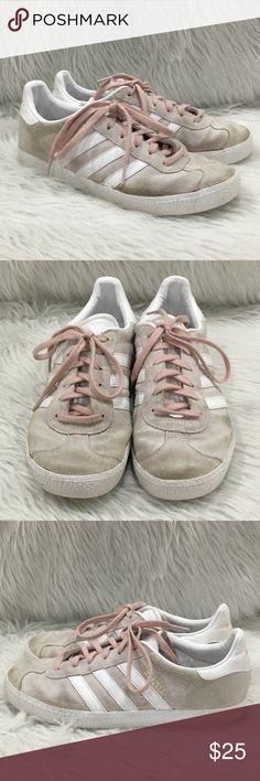 ee7305740f Adidas gazelle rose light pink shoes Adidas gazelle rose pink shoes size 5,  they are