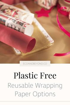 Reusable wrapping paper is a trendy yet traditional zero waste way to wrap gifts. Be inspired by our eco friendly gift wrap ideas! Christmas Gift Bags, Christmas Wrapping, Seed Paper, Fabric Ribbon, Gifts For Friends, Wraps, Zero Waste, Reuse, Plastic