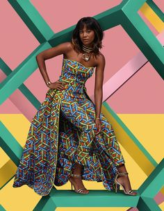 """Hi, here are some """"Amazing Ankara Styles for Ladies."""" These ankara styles are not just only amazing, they are so alluring. African Inspired Fashion, African Print Fashion, Africa Fashion, African Print Dresses, African Fashion Dresses, African Dress, African Print Jumpsuit, Lookbook Mode, Fashion Lookbook"""