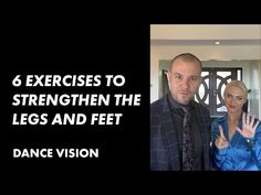 6 Exercises To Strengthen The Legs And Feet For Ballroom Dancers | International Ballroom - YouTube